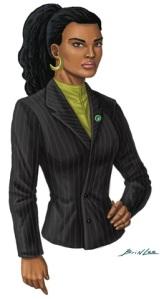 black business woman colors