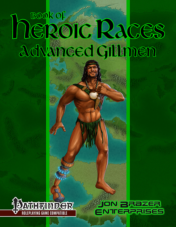 Book of Heroic Races: Advanced Gillmen