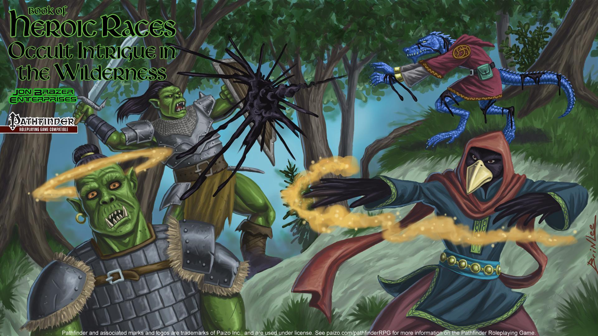 Pathfinder Wallpaper Of Heroes