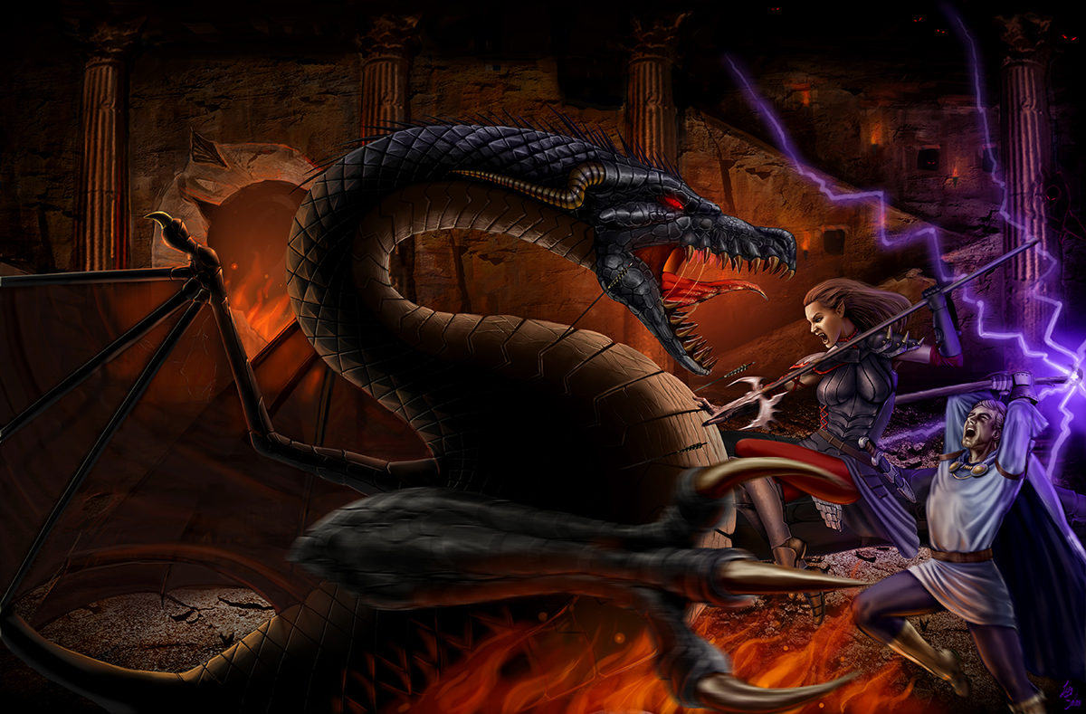 Shadowsfall Dragon Fight