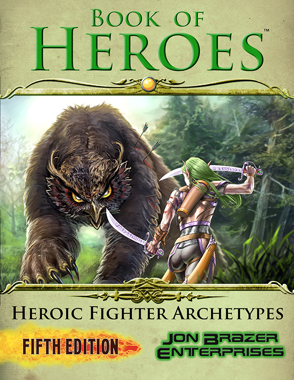 Book of Heroes: Heroic Fighter Archetypes DnD5e
